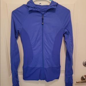 Lululemon women's reversible blue jacket size 4